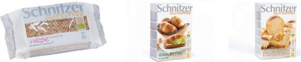 Schnitzer glutenvrij brood: 4 nieuwe soorten in ons assortiment!