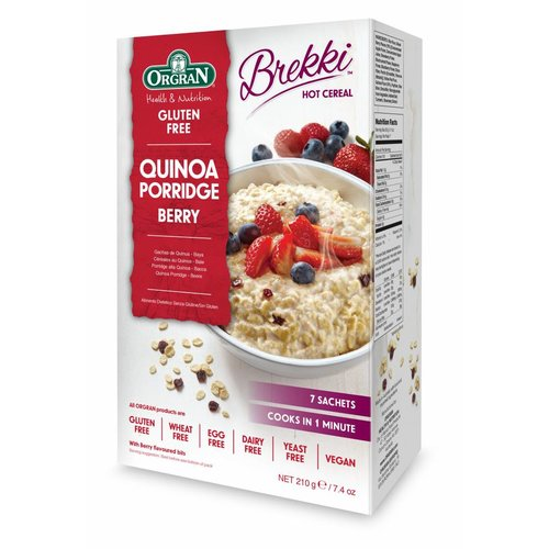 Orgran Quinoa Ontbijtpap met Bosvruchten
