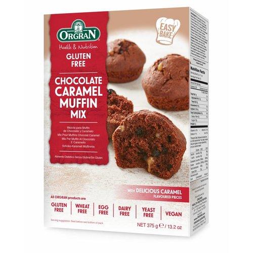 Orgran Chocolade Caramel Muffinmix