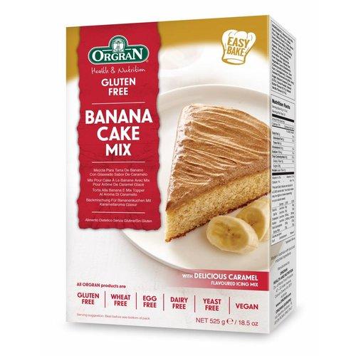 Orgran Bananencakemix