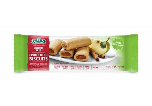 Orgran Fruit Filled Biscuits Apple Cinnamon