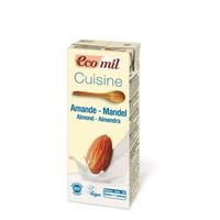 Amandel room (cuisine) Biologisch