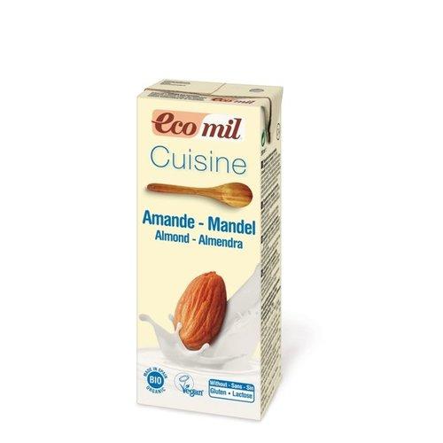 Ecomil Amandel room (cuisine) Biologisch