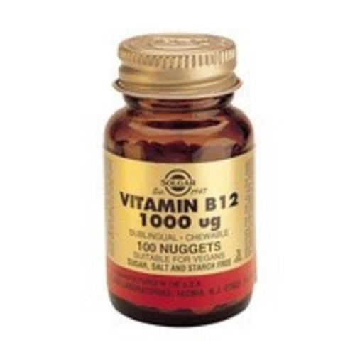 Solgar Vitamin B-12 1000 µg (100 kauwtabletten)