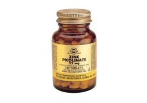 Solgar Zinc Picolinate 22 mg (100 tabletten)
