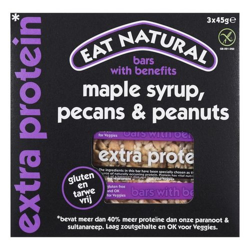 Eat Natural Maple Syrup, Pecans & Peanuts Bar