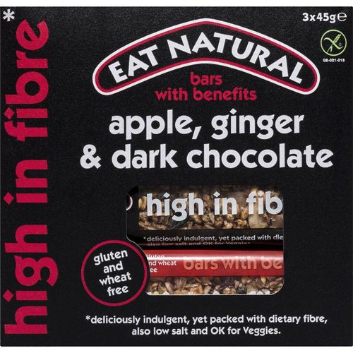 Eat Natural Apple, Ginger & Dark Chocolate Bar