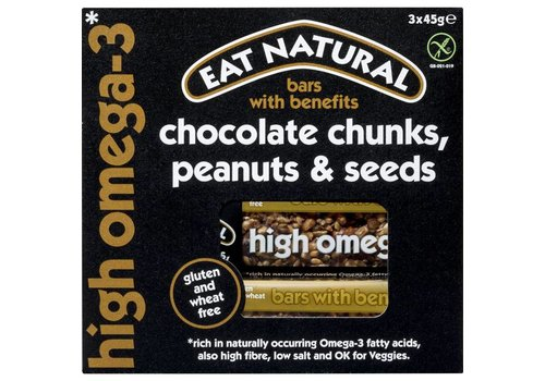 Eat Natural Chocolate Chunks, Peanuts & Seeds Bar