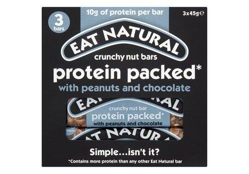 Eat Natural Protein Packed Bar Met Pinda's en Chocolade