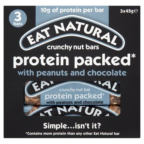 Eat Natural Protein Packed Bar Met Pinda's en Chocolade