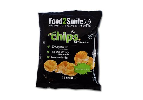 Food2Smile Popped Chips Barbecue