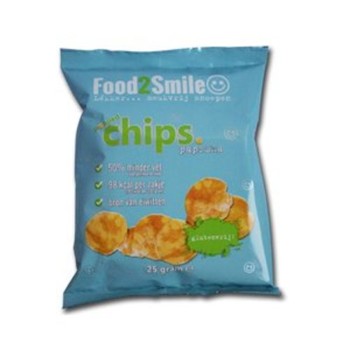 Food2Smile Popped Chips Paprika