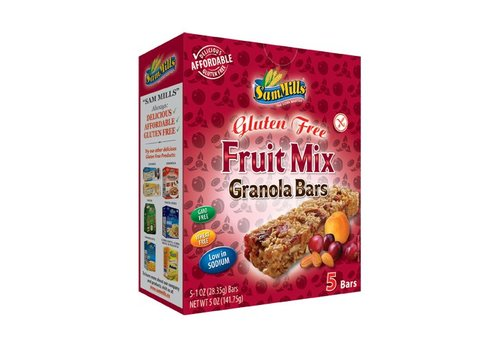 Sam Mills Fruitmix Granola Bars (5 stuks) (THT 15-11-2018)