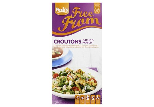 Peak's Free From Croutons Knoflook en Peterselie