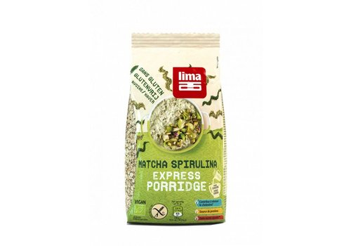 Lima Matcha Spirulina Express Porridge Biologisch