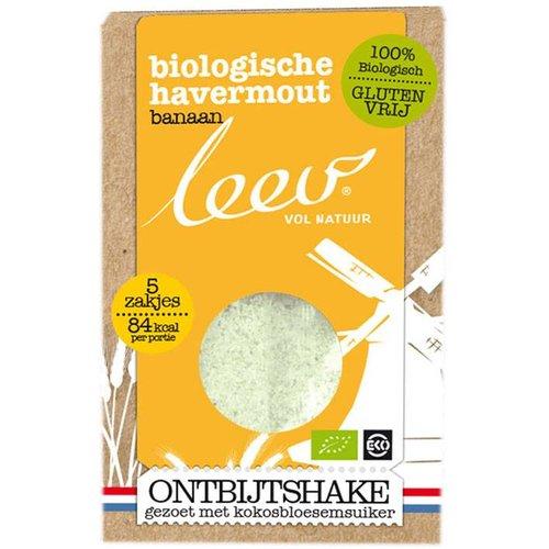 Leev Ontbijtshake Havermout Banaan Biologisch