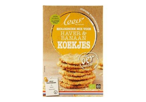 Leev Mix voor Haver & Banaankoekjes Biologisch