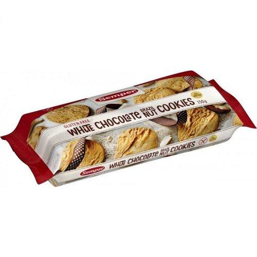 Semper Witte Chocolade Koekjes Met Paranoot