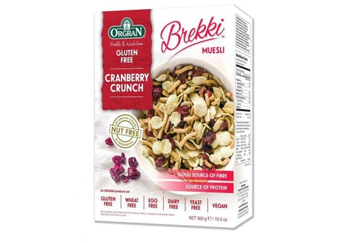 Orgran Cranberry Crunch
