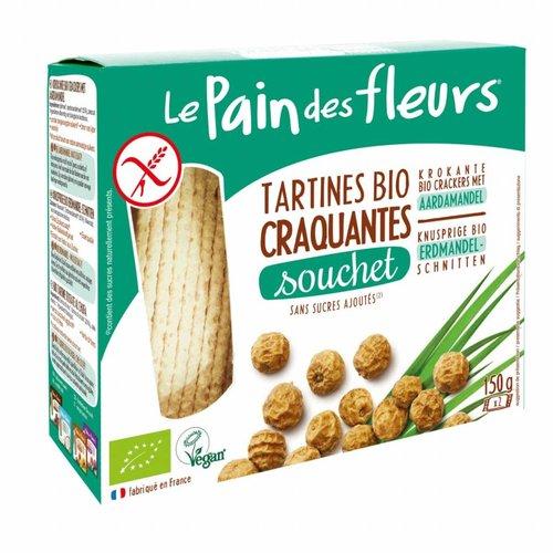 Le Pain des Fleurs Aardamandel Crackers Biologisch