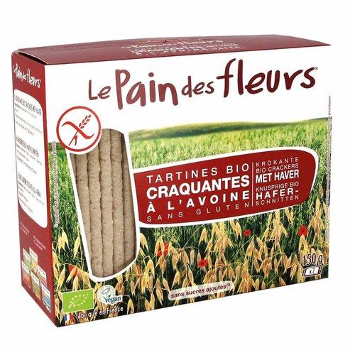 Le Pain des Fleurs Haver Crackers Biologisch (THT 28-6-2018)