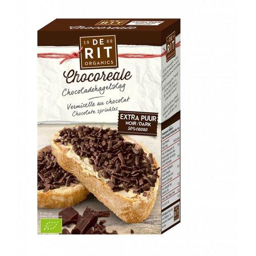 De Rit Choco Hagelslag Extra Puur Biologisch