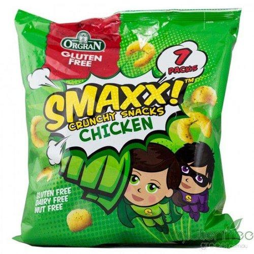 Orgran SMAXX! Crunchy Snacks Chicken Flavour (THT 20-09-2018)