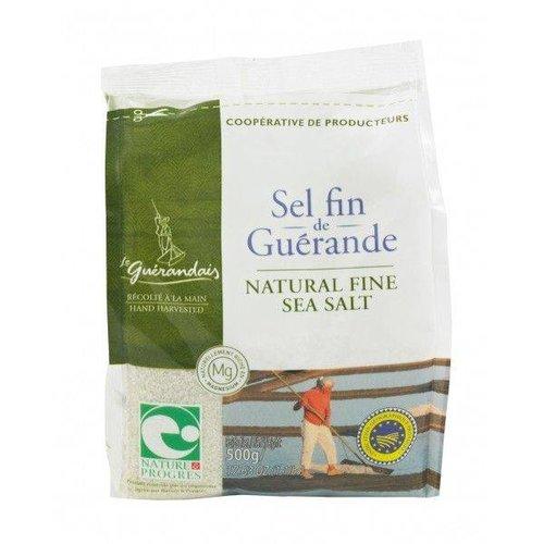 Le Guerandais Fijn Natuurlijk Keltisch Zeezout Navulzak