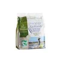 Gedroogd Grof Keltisch Zeezout Speciaal Voor De Zoutmolen