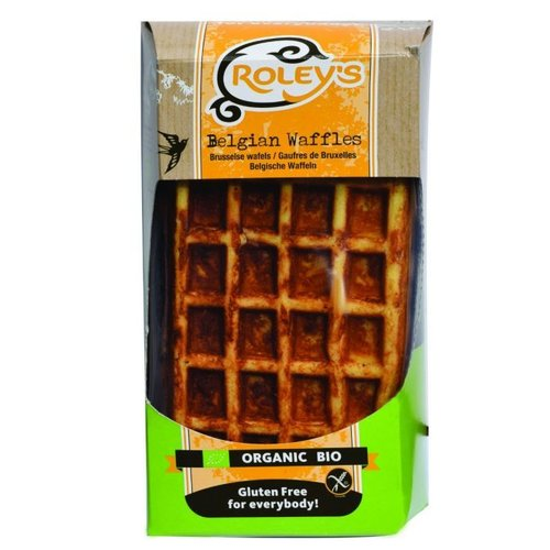 Roley's Brusselse Amandel Wafels Biologisch