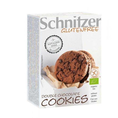 Schnitzer Double chocolate cookies Biologisch