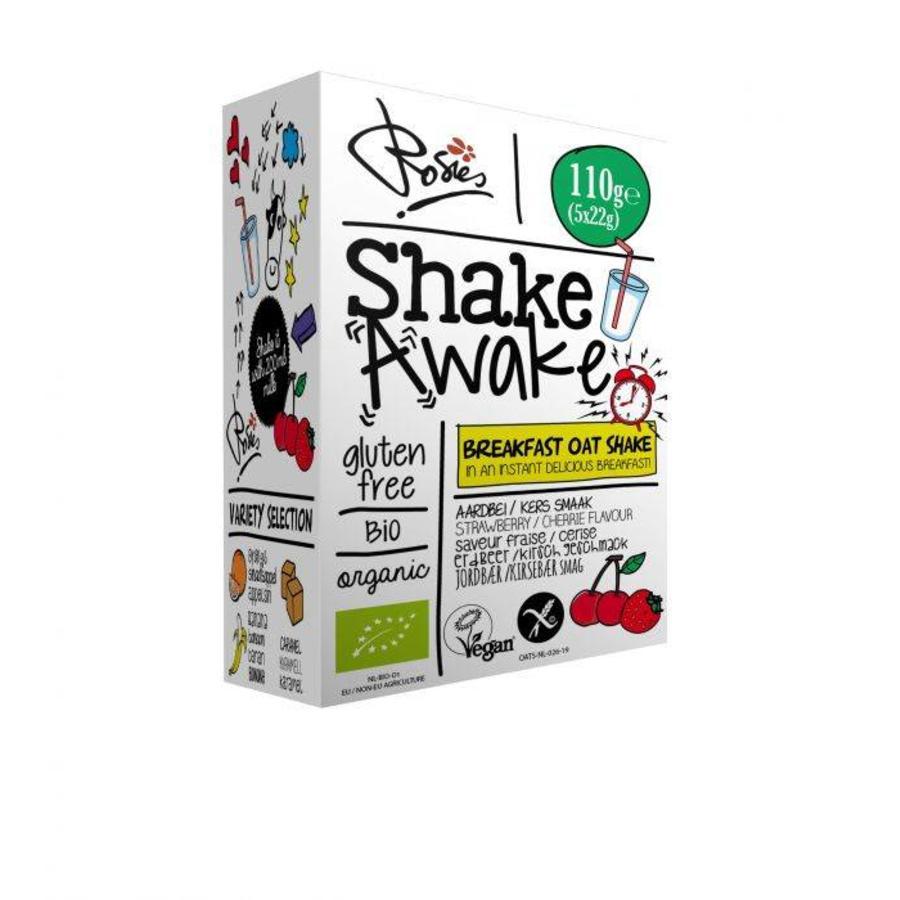 Shake Awake Aardbei Kers Biologisch