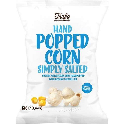 Trafo Hand Popped Corn Simply Salted Biologisch