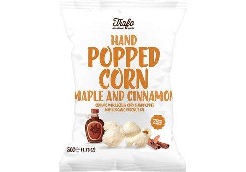 Trafo Hand Popped Corn Maple and Cinnamon biologisch