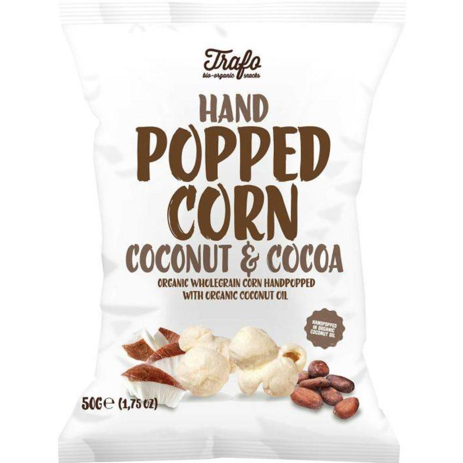 Hand Popped Corn Coconut & Cocoa Biologisch