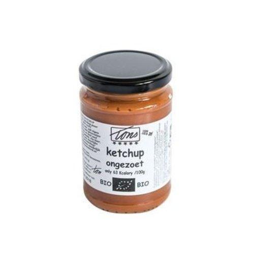Tons Ketchup Ongezoet Biologisch (THT 4-12-2018)