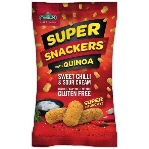 Orgran Super Snackers Sweet Chilli & Sour Cream