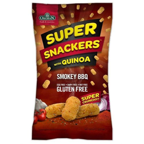 Orgran Super Snackers Smokey BBQ