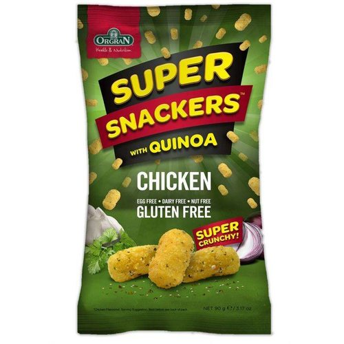 Orgran Super Snackers Chicken Flavour (THT 14-5-2018)