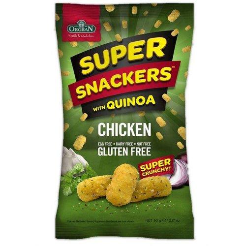 Orgran Super Snackers Chicken Flavour