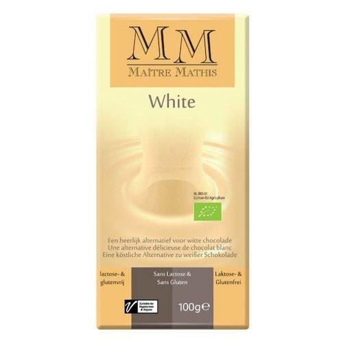 Maître Mathis Witte Rijstmelk Chocolade Biologisch