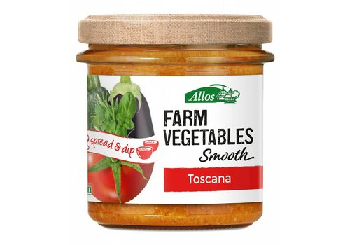Allos Farm Vegetables Smooth Toscana Spread Biologisch