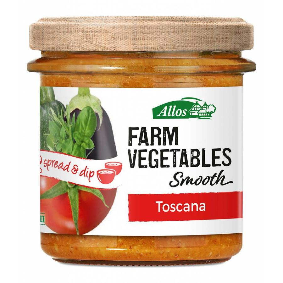 Farm Vegetables Smooth Toskana Spread Biologisch