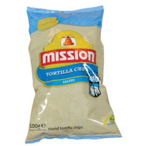Mission Tortilla Chips Natural salt 500 gram