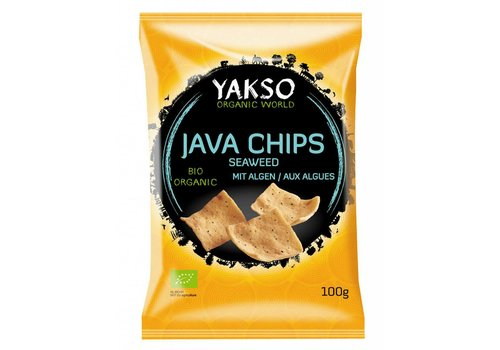 Yakso Java Chips Seaweed Biologisch