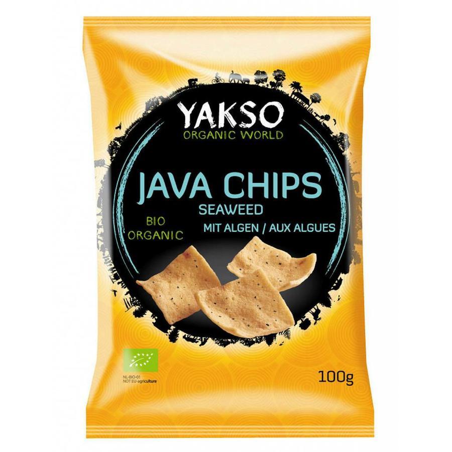 Java Chips Seaweed Biologisch