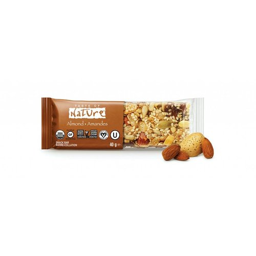 Taste of Nature Almond Organic Fruit & Nut Bar Biologisch