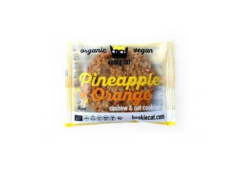 Kookie Cat Pineapple Orange Cookie Biologisch