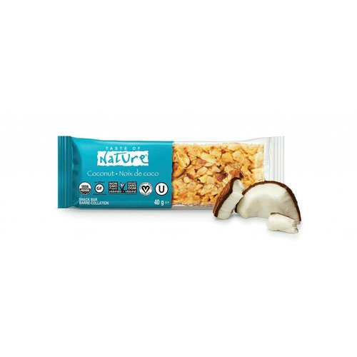 Taste of Nature Coconut Organic Nut Bar Biologisch