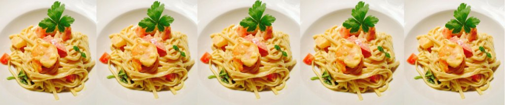 Recept: glutenvrije linguine met scampi in currysaus